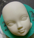 13  face molds, Fondant face, sugarpaste face, Free shipping (1)
